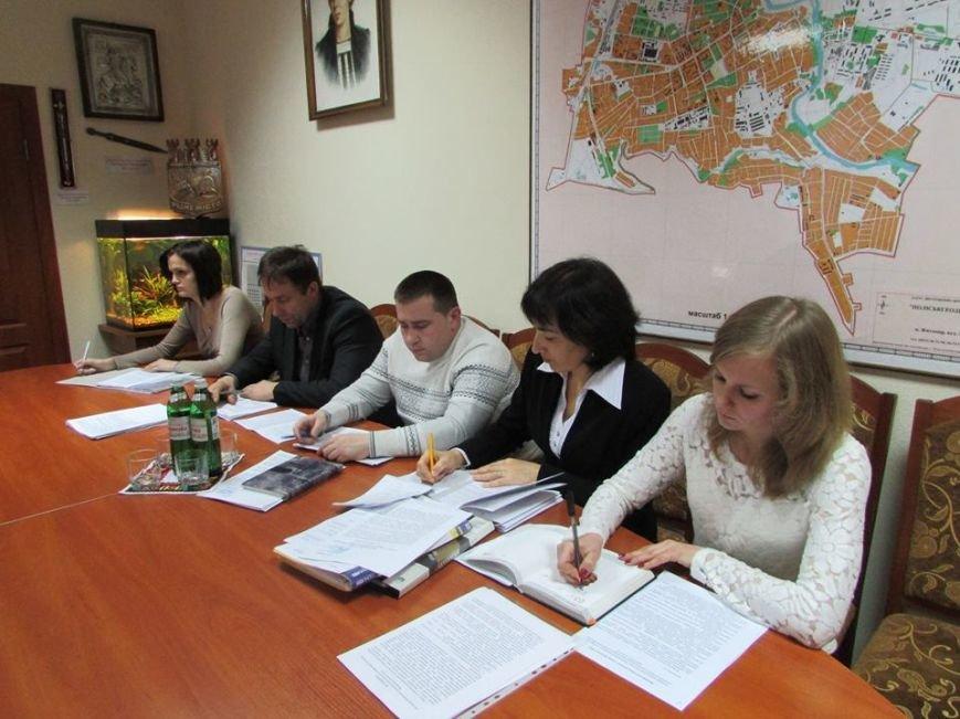 Міський голова продовжує проводити співбесіди із заступниками та начальниками управлінь і відділів міської ради, фото-1