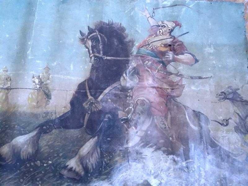 Семеніхіну подарували картину козака з осколком в серці, фото-1