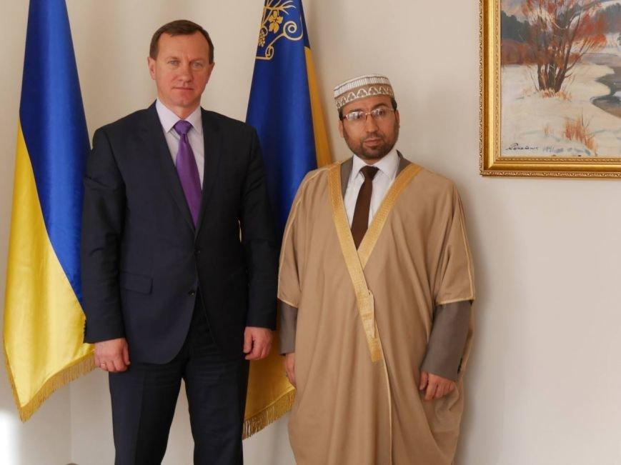 Мер Ужгорода зустрівся з арабським шейхом