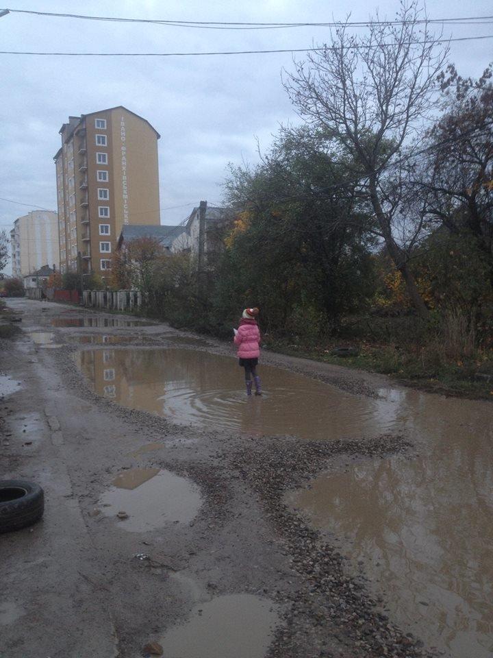 Франківці продовжують скаржитися на страшні вулиці (ФОТО), фото-2