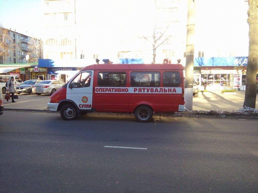 В Сумах заминировали областную налоговую (ФОТО). ОБНОВЛЕНО, фото-2