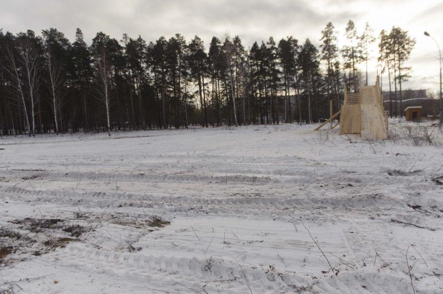 Городская елка в Полевском строится в парке, фото-4