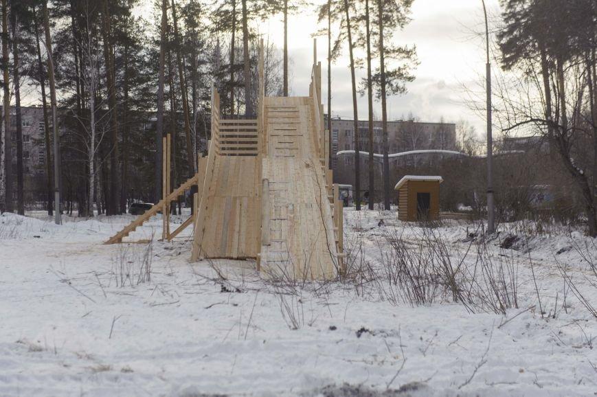 Городская елка в Полевском строится в парке, фото-2