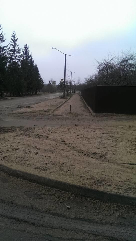 На Чортківщині замість снігу з неба падає жом з місцевого цукрового заводу (фото, відео), фото-2