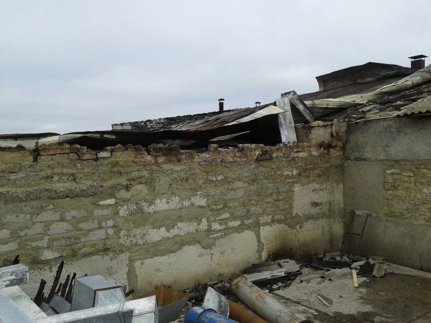 Ущерб от пожара в частном цеху оценивается в несколько сот тысяч гривен (фото), фото-1