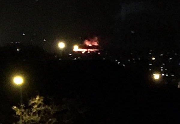 ВДонецке ночью сгорело строение дельфинария