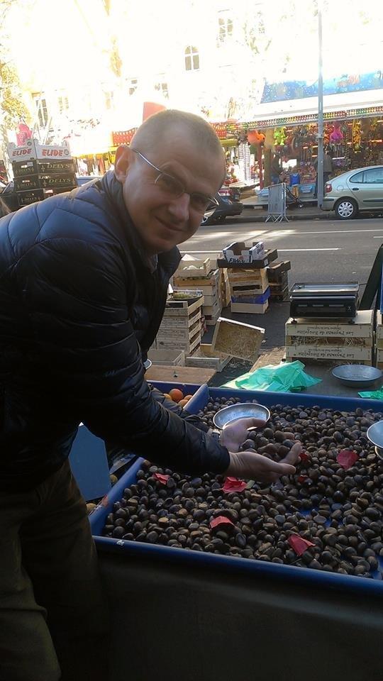 У Франківську можна скуштувати смажені французькі каштани (ФОТО), фото-3