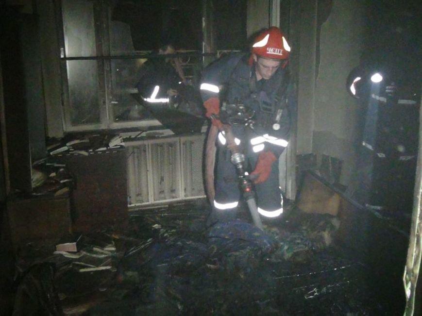 Наслідки вчорашньої пожежі у франківській багатоповерхівці (ФОТО), фото-5