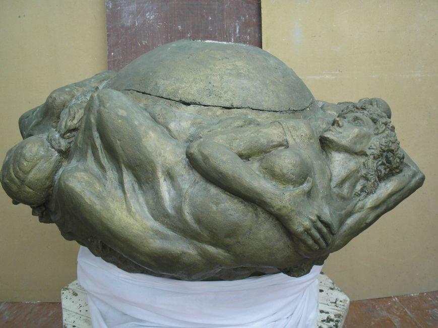 Вандалы надругались над скульптурой, фото-1