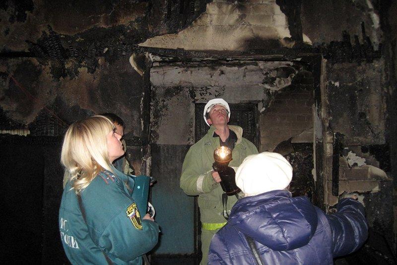 ВБелгороде из-за пожара впятиэтажке эвакуировали 85 человек