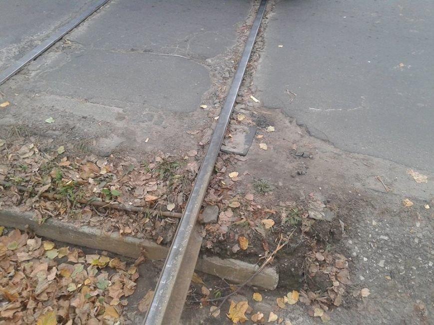 На ремонт переїзду через колію трамваю виділено більше 1 млн. грн, фото-1