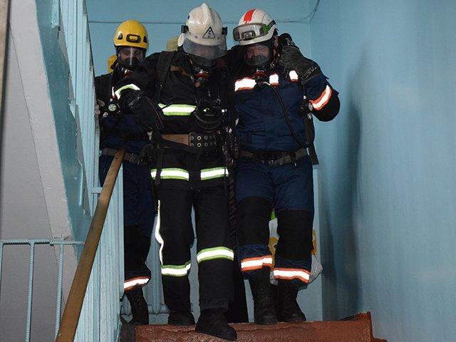 Николаевские спасатели провели тактико-специальные учения на базе Витовской больницы (ФОТО), фото-3