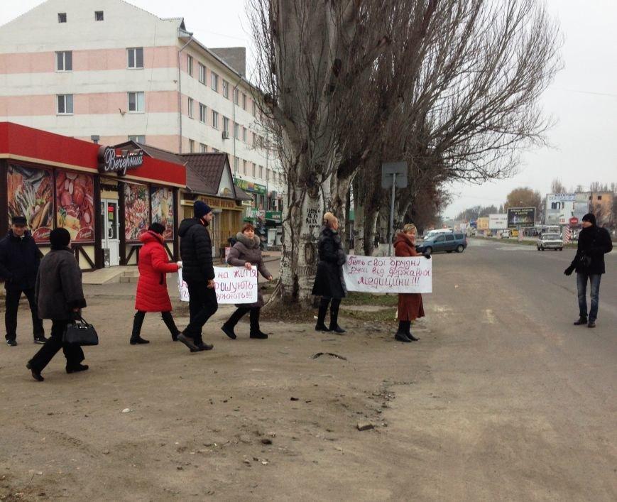 Персонал Никопольской станции скорой помощи продолжает отстаивать своё здание (фото), фото-5