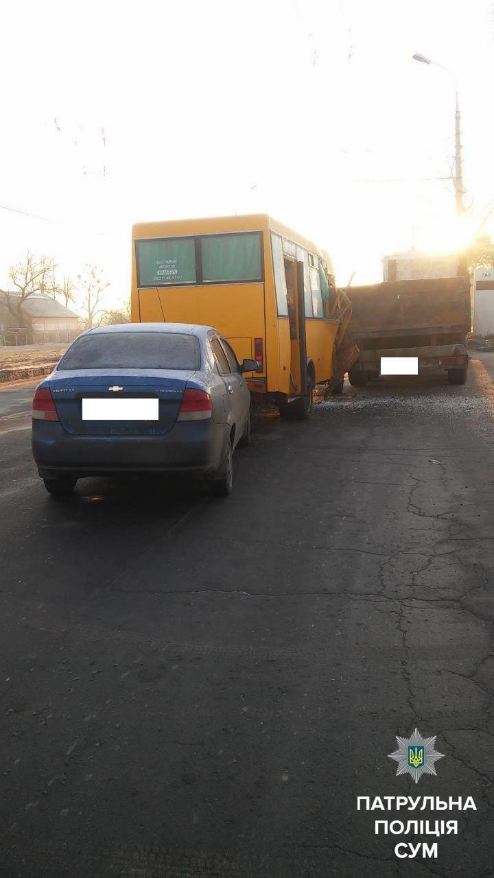 В Сумах произошло тройное ДТП (ФОТО), фото-1