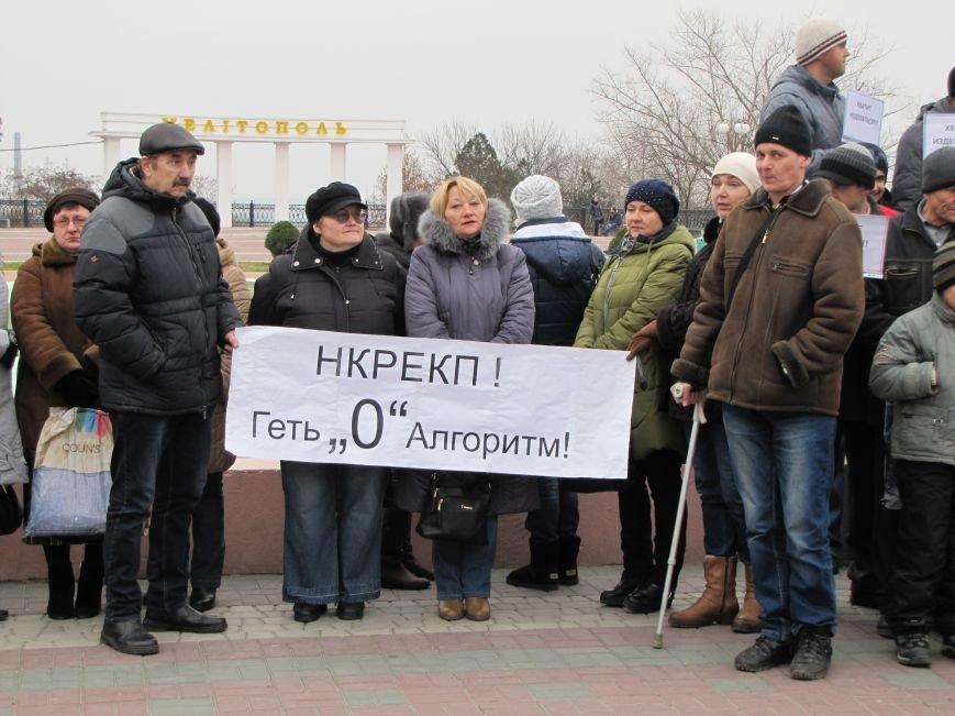 Мелитопольские энергетики остались неуслышанными и собираются на митинг в столицу (фото, видео), фото-1