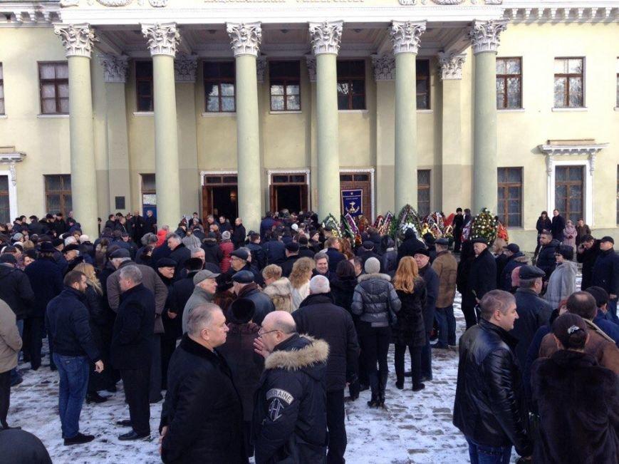 В Днепре простились с ректором Медакадемии (ФОТО), фото-6