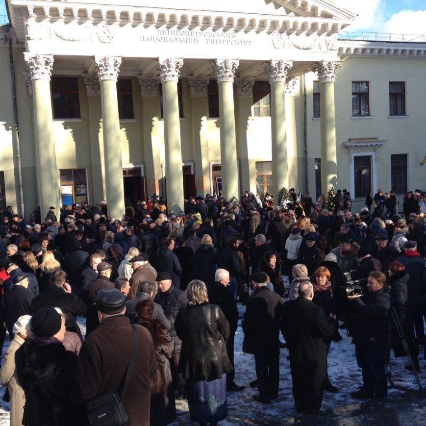 В Днепре простились с ректором Медакадемии (ФОТО), фото-3