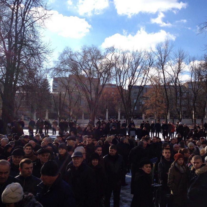 В Днепре простились с ректором Медакадемии (ФОТО), фото-5