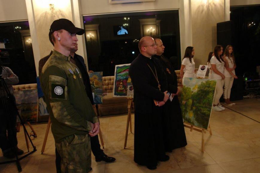 На підтримку пораненим бійцям АТО у Франківську провели благодійний аукціон (ФОТО+ВІДЕО), фото-1
