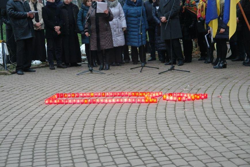 Івано-Франківськ вшанував пам'ять жертв Голодомору, запаливши символічні свічки (ФОТО), фото-7