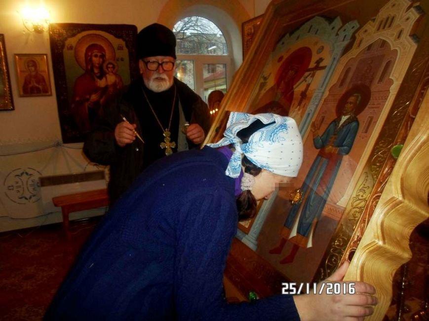 Воспитанницы Мелитопольской испытательной колонии прикоснулись к святыне, фото-1