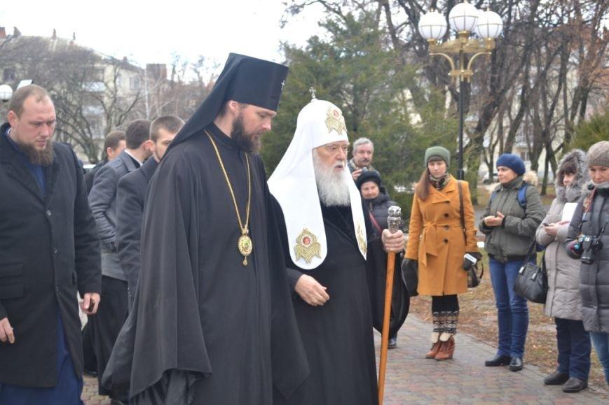 Патриарх Филарет в Полтаве освятил иконостас с гербом Украины и вручил награду главе ОГА (Фото), фото-3