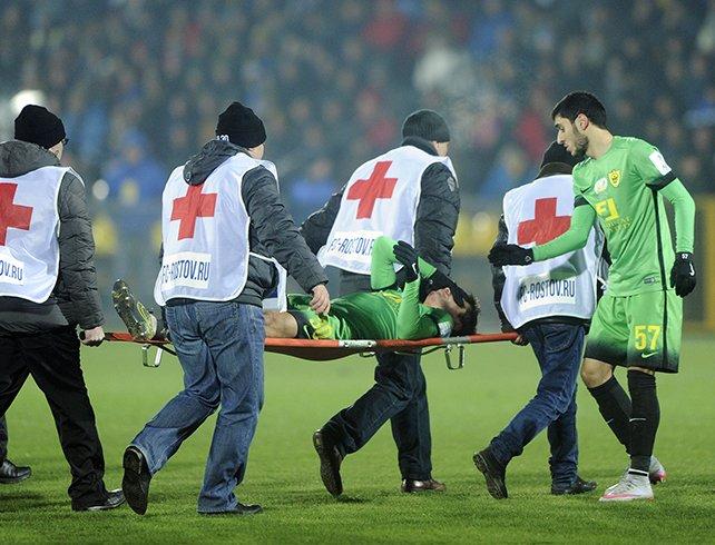 Капитан ФК «Ростов» извинился за травму перед защитником «Анжи», фото-1