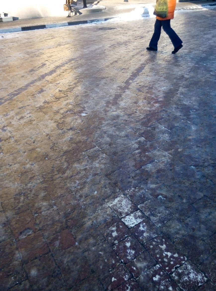 Крокуючи вулицями міста, франківці знову наражаються на травми (ФОТО), фото-1