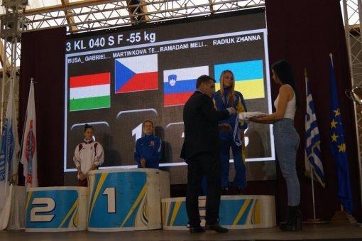 Кам'янчанка виборола бронзу на чемпіонаті Європи з кікбоксингу, фото-1