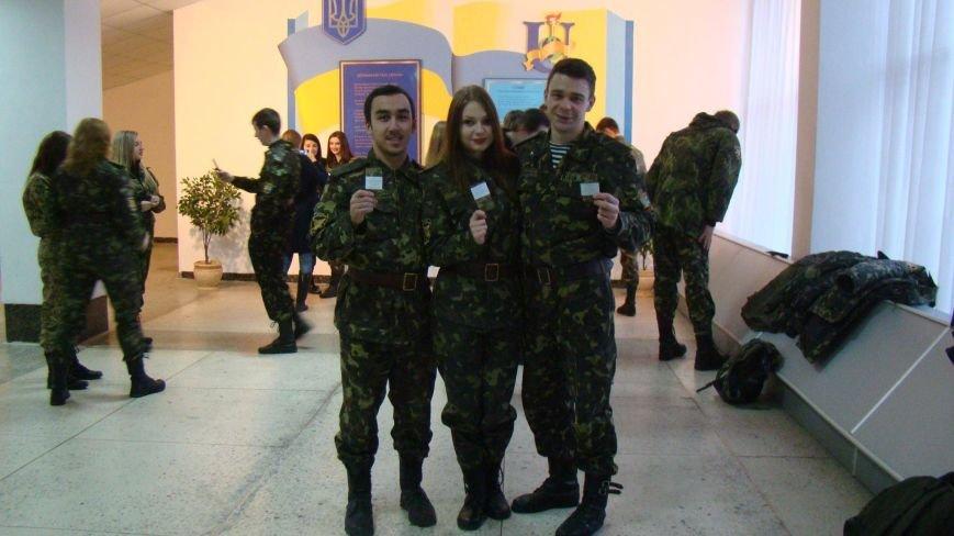 469 курсантов военной кафедры СумГУ получили погоны (ФОТО), фото-1
