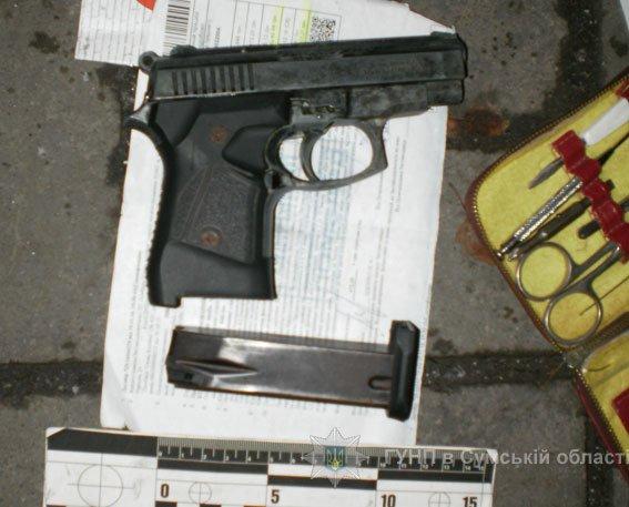 Сумчанин оставил в камере хранения супермаркета оружие и наркотики (ФОТО), фото-1