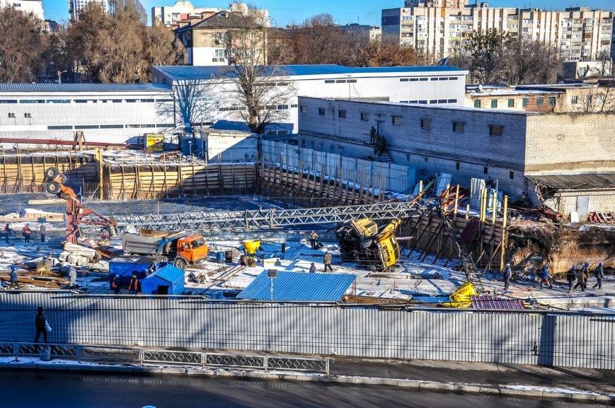 В Харькове на стройке упал башенный кран (ФОТО), фото-2