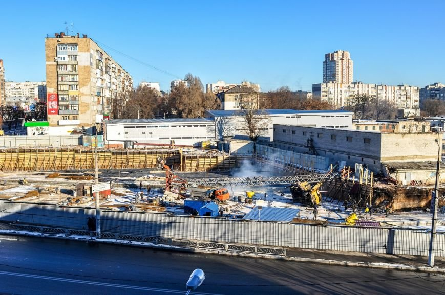 В Харькове на стройке упал башенный кран (ФОТО), фото-3