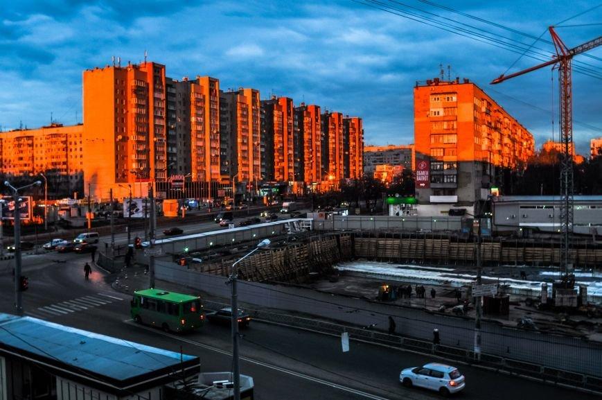 В Харькове на стройке упал башенный кран (ФОТО), фото-1