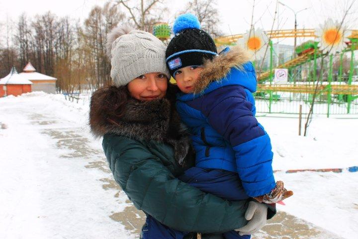 Мила и Матвей Семеновы