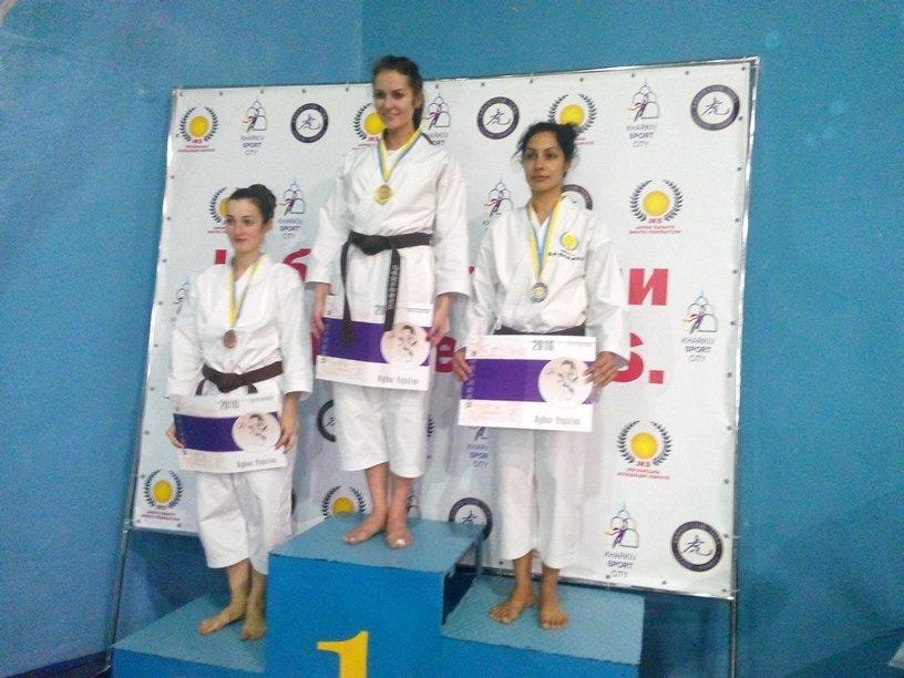 Победа Краматорских спортсменов на турнире по каратэ, фото-1