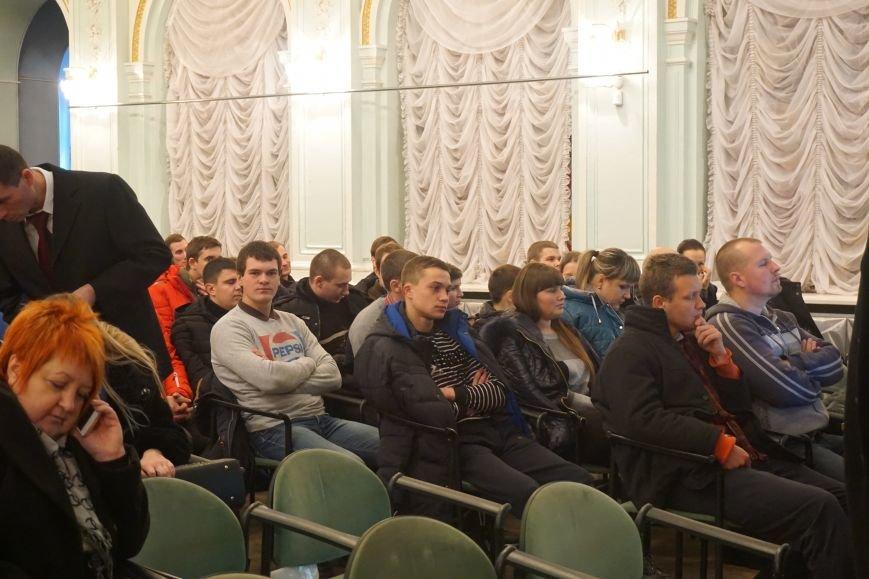 В Каменском молодых сотрудников ДМК посвятили в металлурги, фото-1