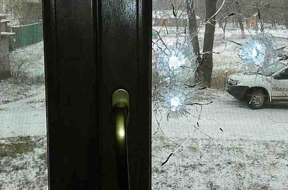 В Донецкой области обстреляли офис телекомпании (ФОТО), фото-1