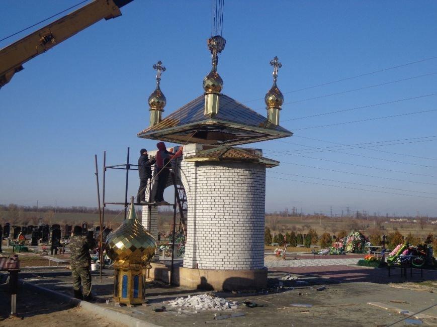 На часовню святого Николая возвели купола с освященными крестами (фото), фото-4