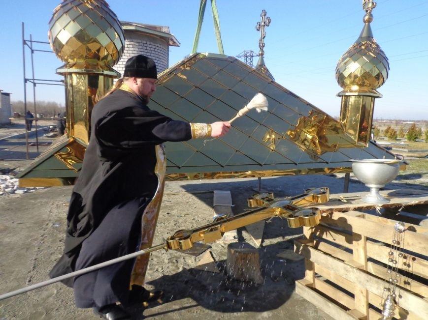 На часовню святого Николая возвели купола с освященными крестами (фото), фото-1