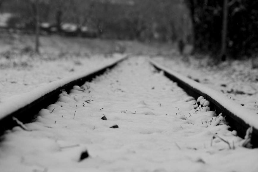 В Ужгород йде сильний сніг, фото-23