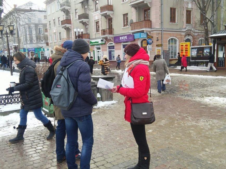 Сьогодні на Театральному майдані провели безкоштовне тестування  на ВІЛ-СНІД (фото), фото-3