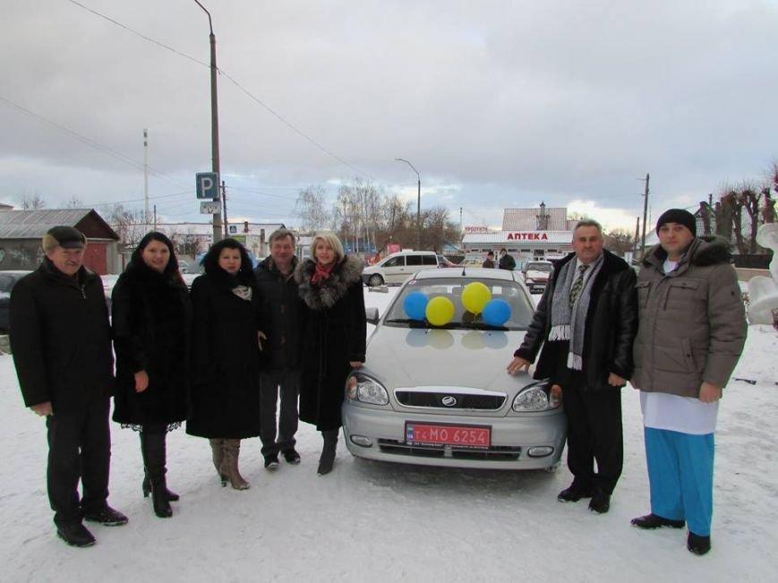 Комунальний заклад «Центр первинної медико-санітарної допомоги міста Новограда-Волинського» отримав у власність автомобіль, фото-2