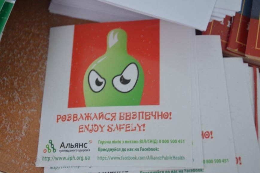 В центре Полтавы проходит бесплатное тестирование на ВИЧ (ФОТО), фото-2