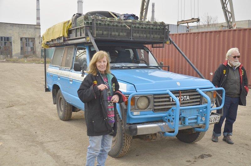 В Одессе гостят путешественники, объехавшие весь мир на внедорожнике (ФОТО, ВИДЕО), фото-1