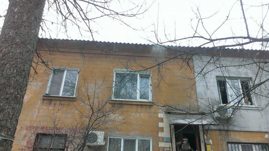В Каменском при пожаре пострадал пенсионер, фото-1