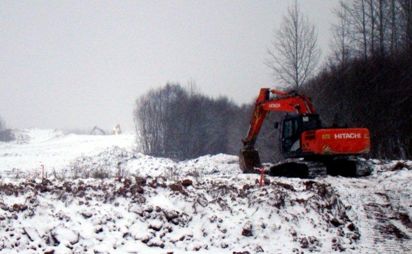 Строительство 2-го пускового комплекса Северного обхода г. Пскова продолжается, фото-1
