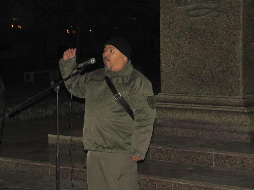 Мелитопольские активисты подвели итоги Революции Достоинства (фото, видео), фото-11