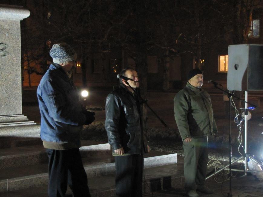 Мелитопольские активисты подвели итоги Революции Достоинства (фото, видео), фото-10