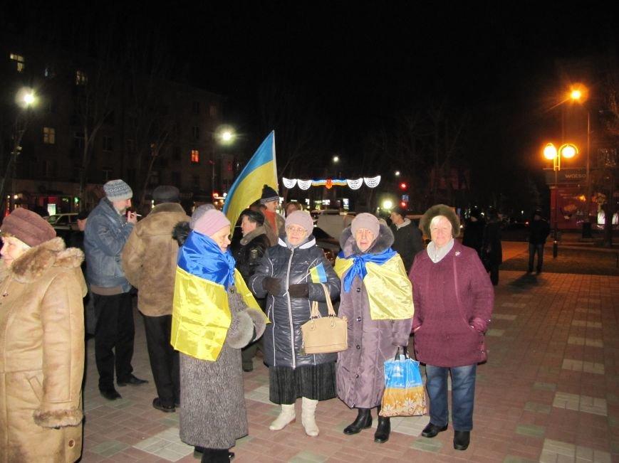 Мелитопольские активисты подвели итоги Революции Достоинства (фото, видео), фото-2
